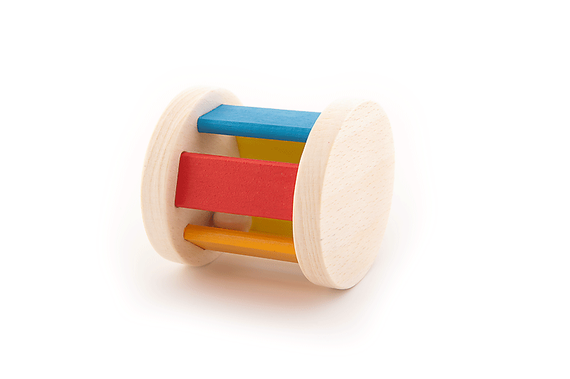 Csörge - Rattle and Roll - Wooden Toys - Fa játék